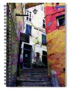 Magic Stairway Spiral Notebook
