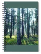 Magic Sunbeams Spiral Notebook