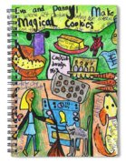 Magical Cookies A Collaboration With Eva Miller Spiral Notebook