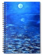 Magical Full Moon Spiral Notebook