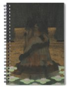 Magical Holy Mountain Within A Lotus-filled Sea Spiral Notebook