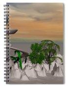 Magical Island Spiral Notebook