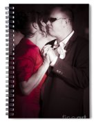 Magical Moment Of Love Spiral Notebook