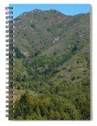 Magical Mountain Tamalpais Spiral Notebook