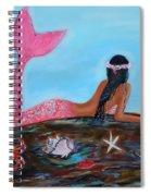 Magical Mystic Mermaid Spiral Notebook