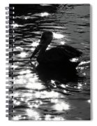 Magical Pelican Spiral Notebook