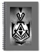 Magical Sign For Curse Removal Astral Practice Spiral Notebook