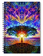 Magical Tree And Sun 2 Spiral Notebook