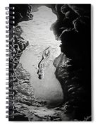 Magical Underwater Cave Spiral Notebook
