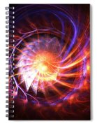 Magma Shell Spiral Notebook