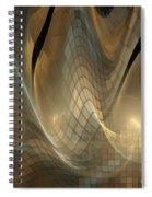 Magnetic Sand Fields Spiral Notebook