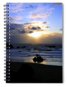 Magnificent Bandon Sunset Spiral Notebook