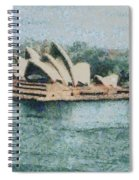 Magnificent Sydney Opera House Spiral Notebook