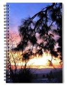 Magnificent Winter Sky Spiral Notebook