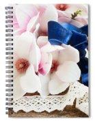 Magnolia Flowers Spiral Notebook