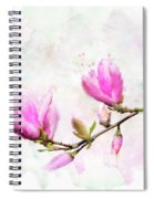 Magnolia Flowers Spiral Notebook