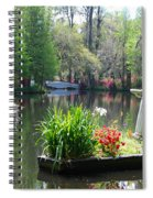 Magnolia Gardens In Charleston Spiral Notebook