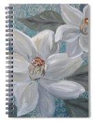 Magnolia Melody Spiral Notebook