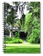 Magnolia Plantation Back Entrance Spiral Notebook