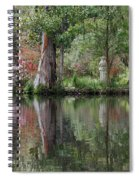 Magnolia Plantation Gardens Series Iv Spiral Notebook