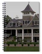 Magnolia Plantation Home Spiral Notebook