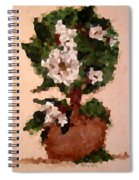 Magnolia Topiary IIi  Spiral Notebook
