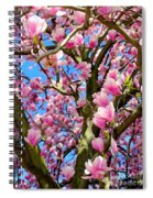 Magnolia Tree Beauty #3 Spiral Notebook