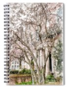 Magnolias In Back Bay Spiral Notebook
