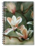 Magnolias In Bloom Spiral Notebook