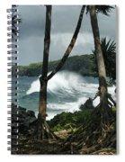 Mahama Lauhala Keanae Peninsula Maui Hawaii Spiral Notebook