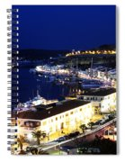 Mahon Harbour At Night Spiral Notebook