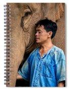 Mahout Em Spiral Notebook