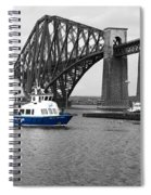 Maid Of The Forth In Blue. Spiral Notebook