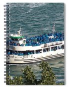Maid Of The Mist 1 Spiral Notebook