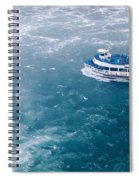Maid Of The Mist American Side  Spiral Notebook
