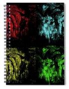 Maidenhair Ferns Pop Art Spiral Notebook