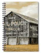 Mail Pouch Barn - Us 30 #3 Spiral Notebook
