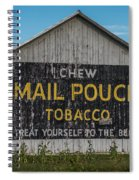 Mail Pouch Tobacco Barn Spiral Notebook
