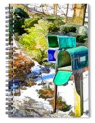 Mailbox Spiral Notebook