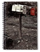 Mailboxes  Spiral Notebook