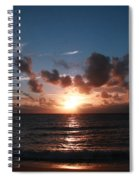 Ma'ili Sunset Spiral Notebook