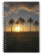 Maili Sunset Spiral Notebook