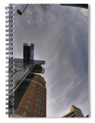 Main And Genesee St Downtown Buffalo Spiral Notebook
