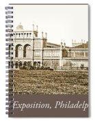 Main Building, Centennial Exposition, 1876, Philadelphia Spiral Notebook