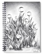 Main Castle Of The Silver Moon Empire Spiral Notebook