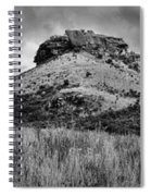 Main Caves Panorama - Drakensberg Spiral Notebook