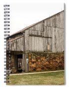 Main Part Of Amana Farmer's Market Barn Amana Ia Spiral Notebook