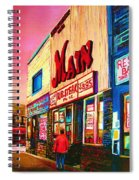 Main Steakhouse Blvd.st.laurent Spiral Notebook