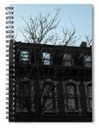 Main Street Building Spiral Notebook