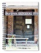 Main Street For Sale Spiral Notebook